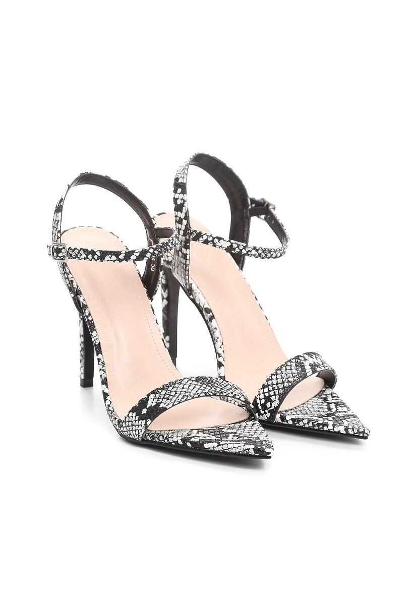 Czarne Sandały Atomize