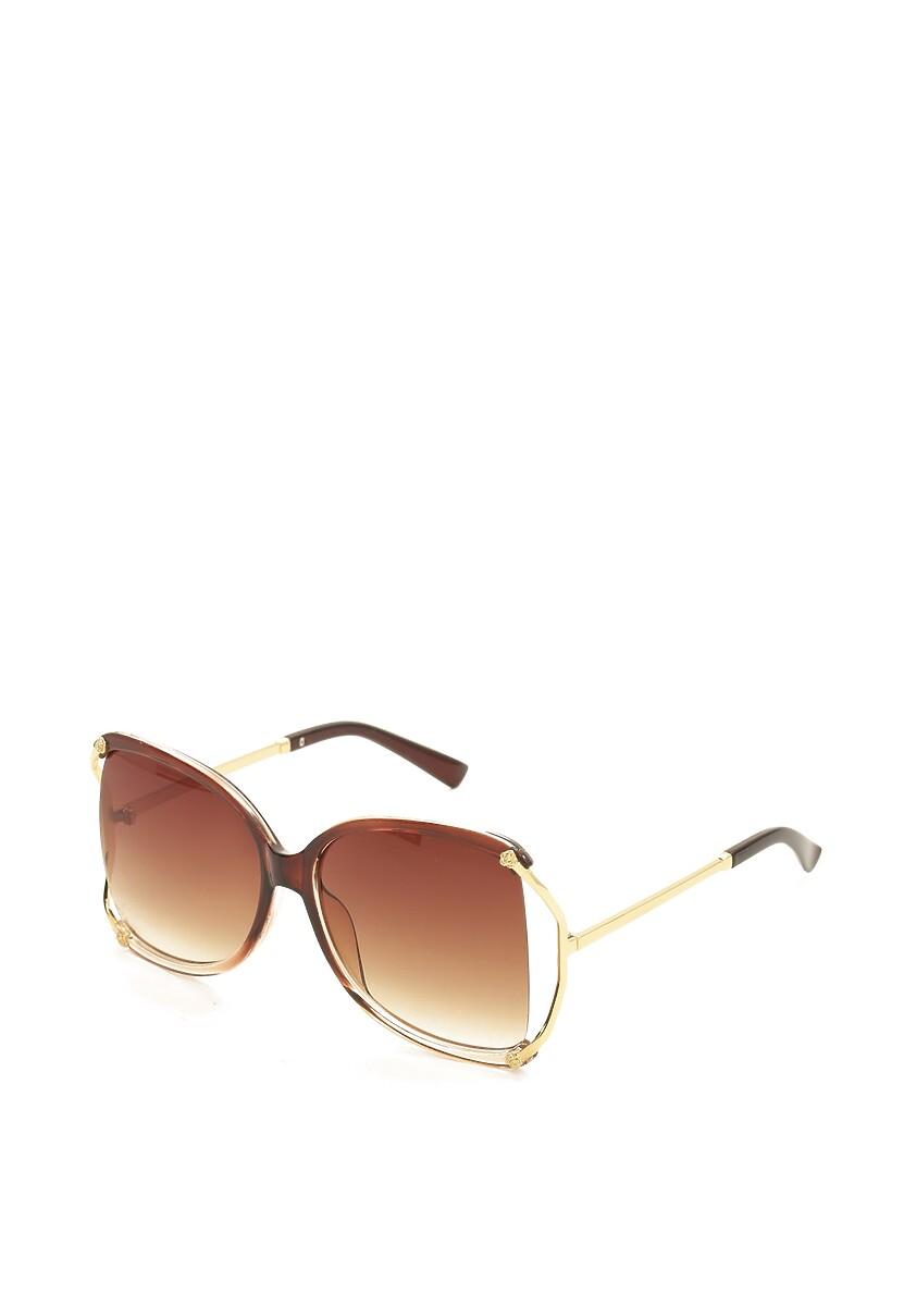 Brązowe Okulary Marl