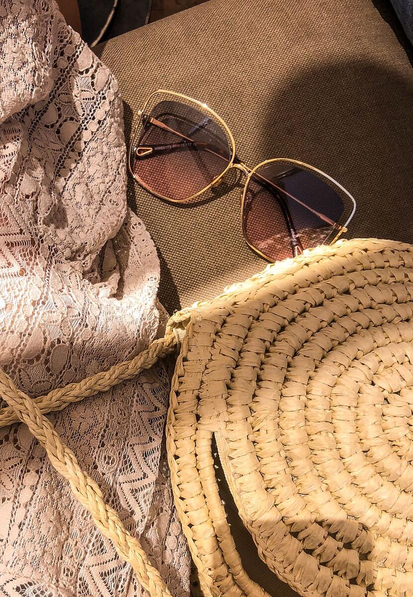 Brązowe Okulary Rocks