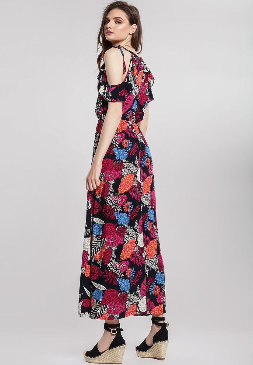Granatowa Sukienka Novice