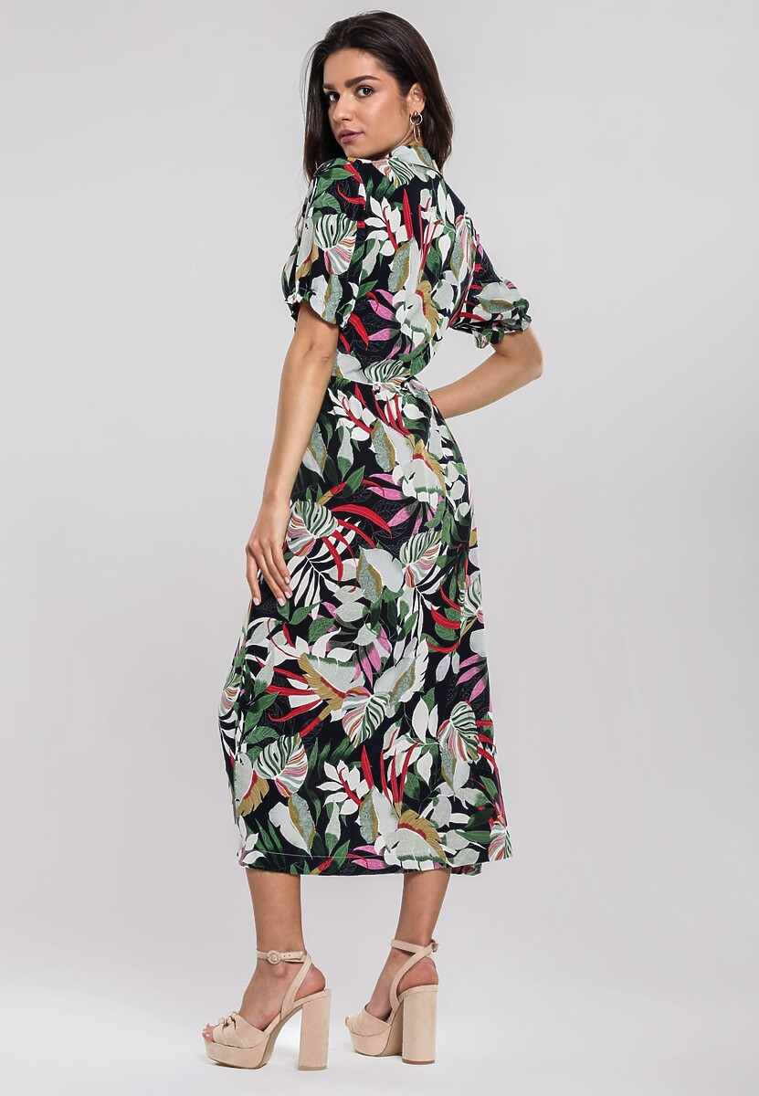 Granatowa Sukienka Painless