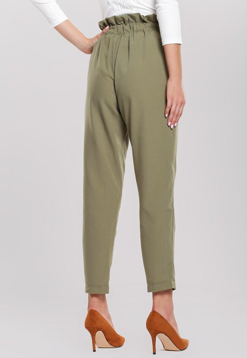 Zielone Spodnie Lighthearted