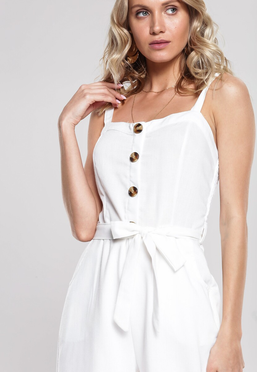 Biały Kombinezon Merchandise
