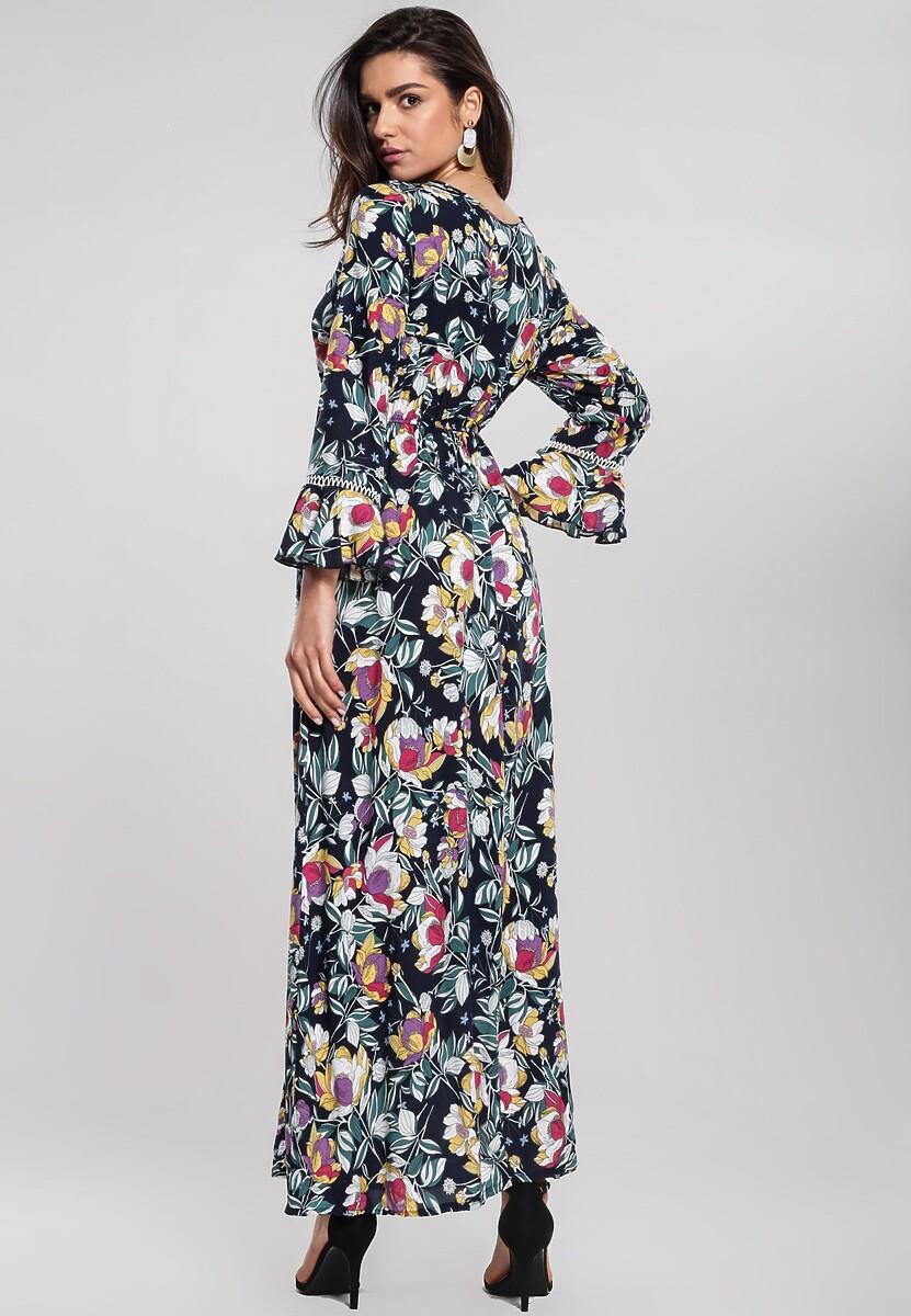 Granatowa Sukienka Life Style