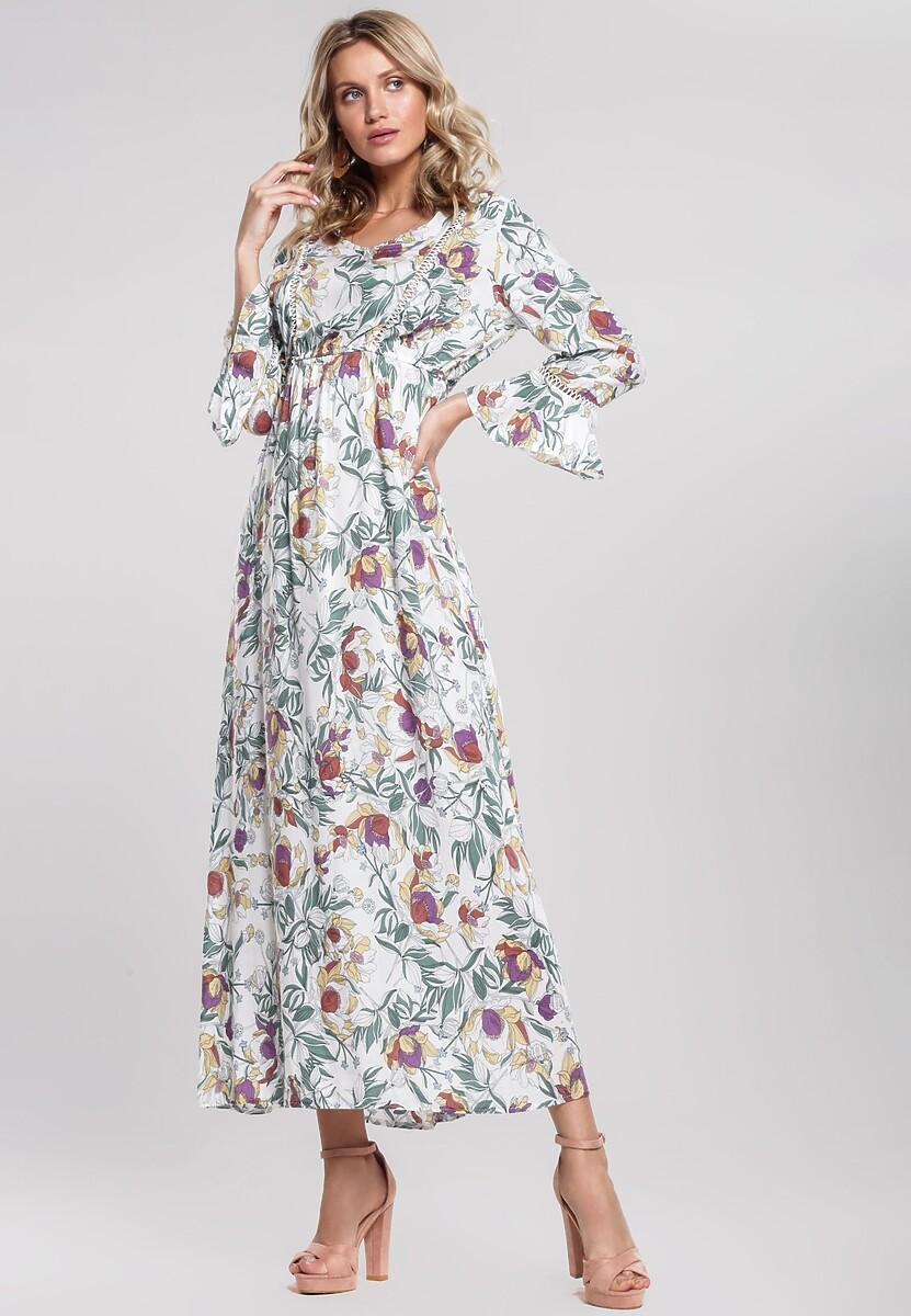 Biała Sukienka Life Style