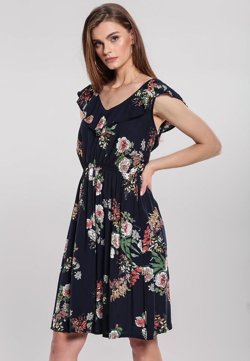 Granatowa Sukienka Tardily