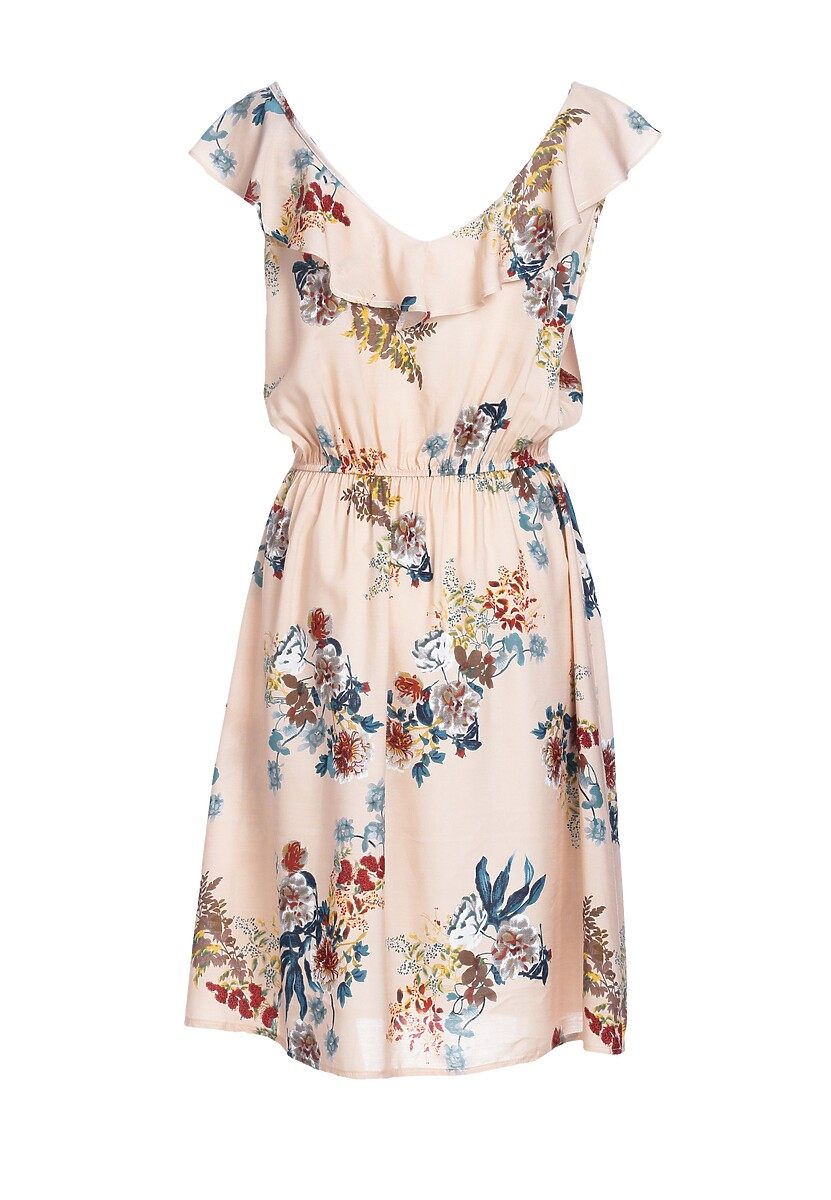 Łososiowa Sukienka Tardily