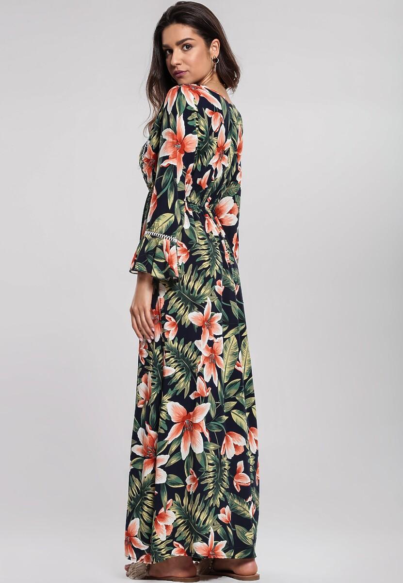 Granatowa Sukienka Well Heeled