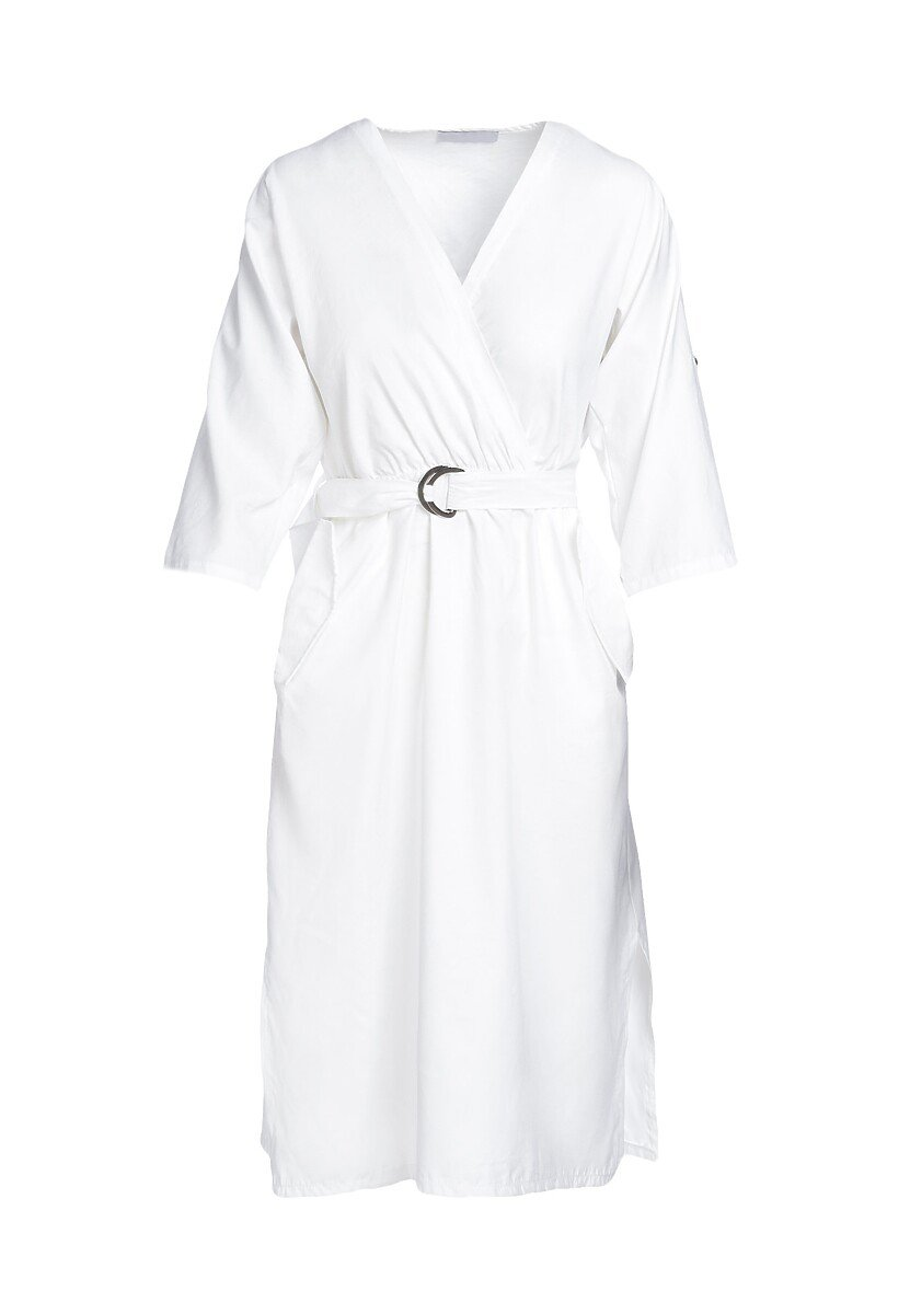 Biała Sukienka Aquarinia