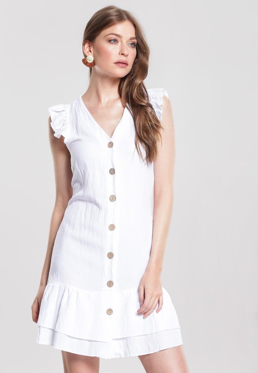 Biała Sukienka Modus