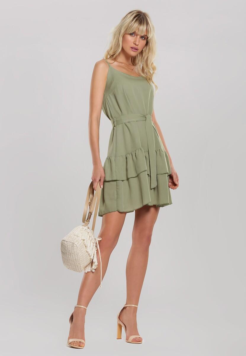 Zielona Sukienka Calmer