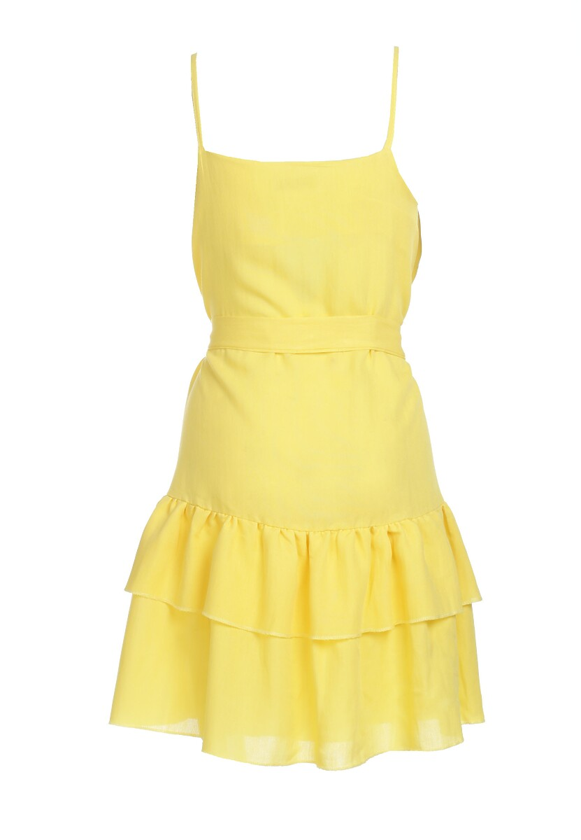 Żółta Sukienka Calmer