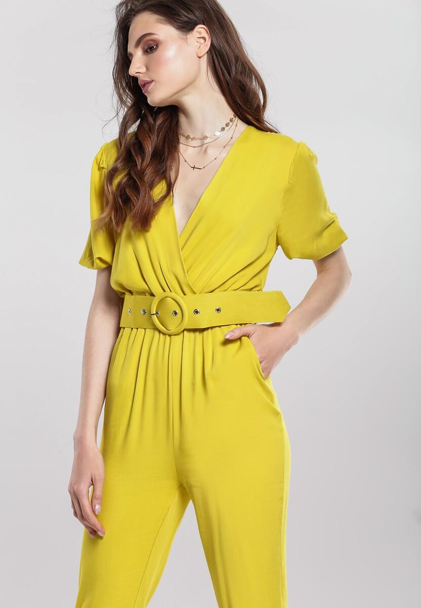 Żółty Kombinezon Advertising