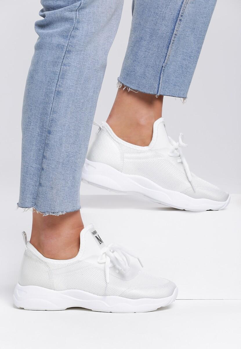 Białe Buty Sportowe Superatom
