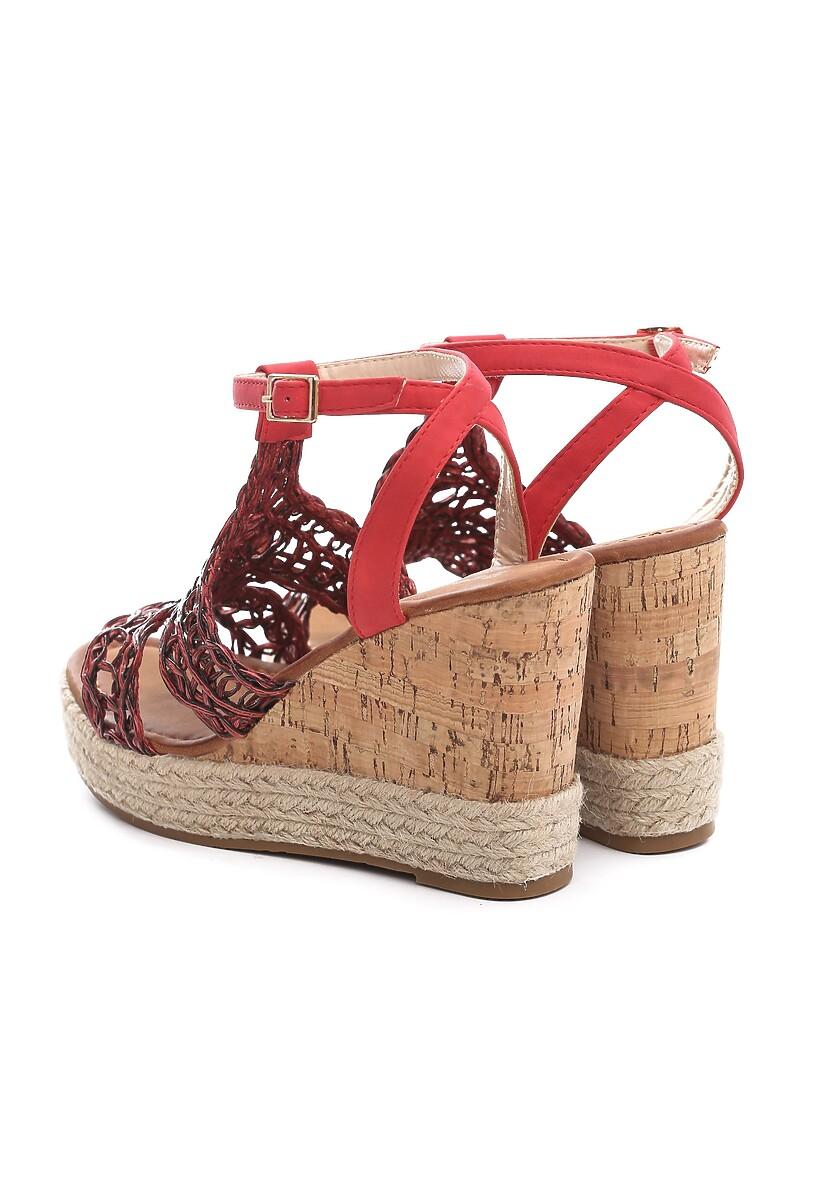Czerwone Sandały Cattleya