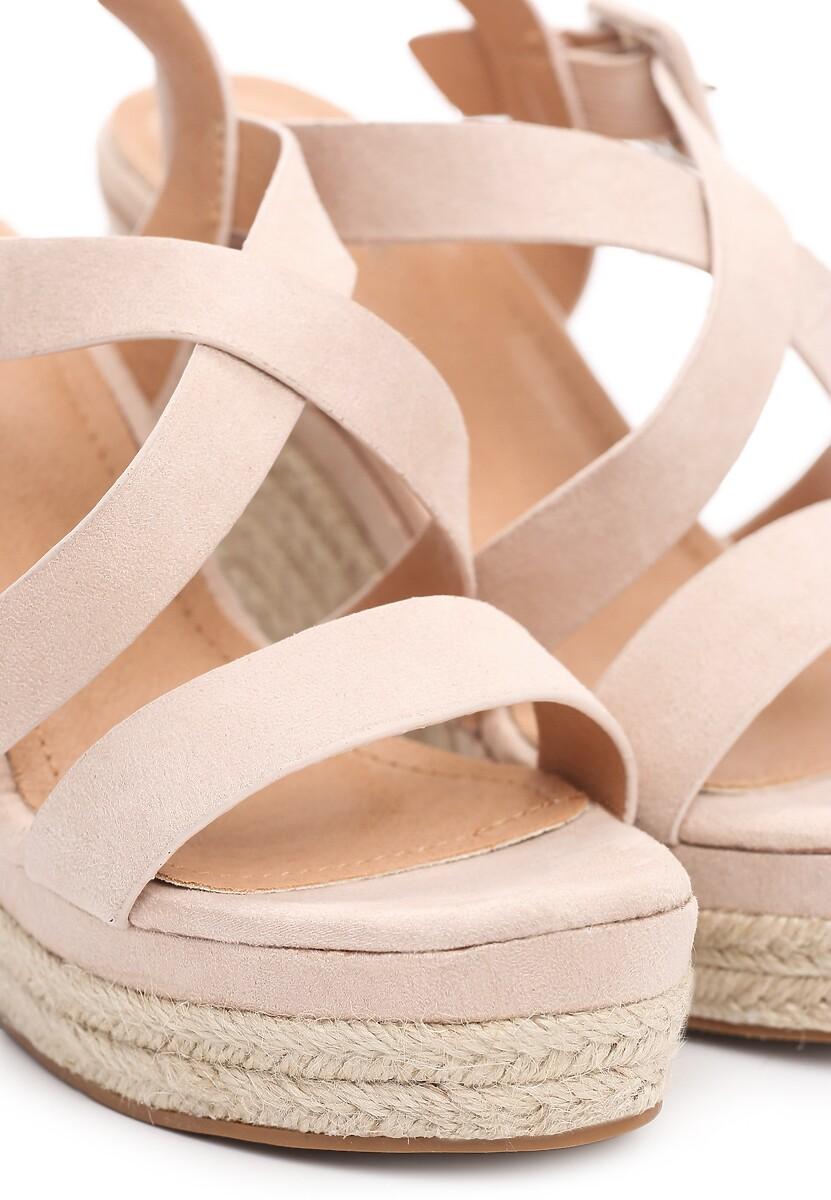 Beżowe Sandały Advocated