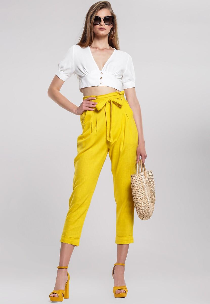 Żółte Spodnie Even Still