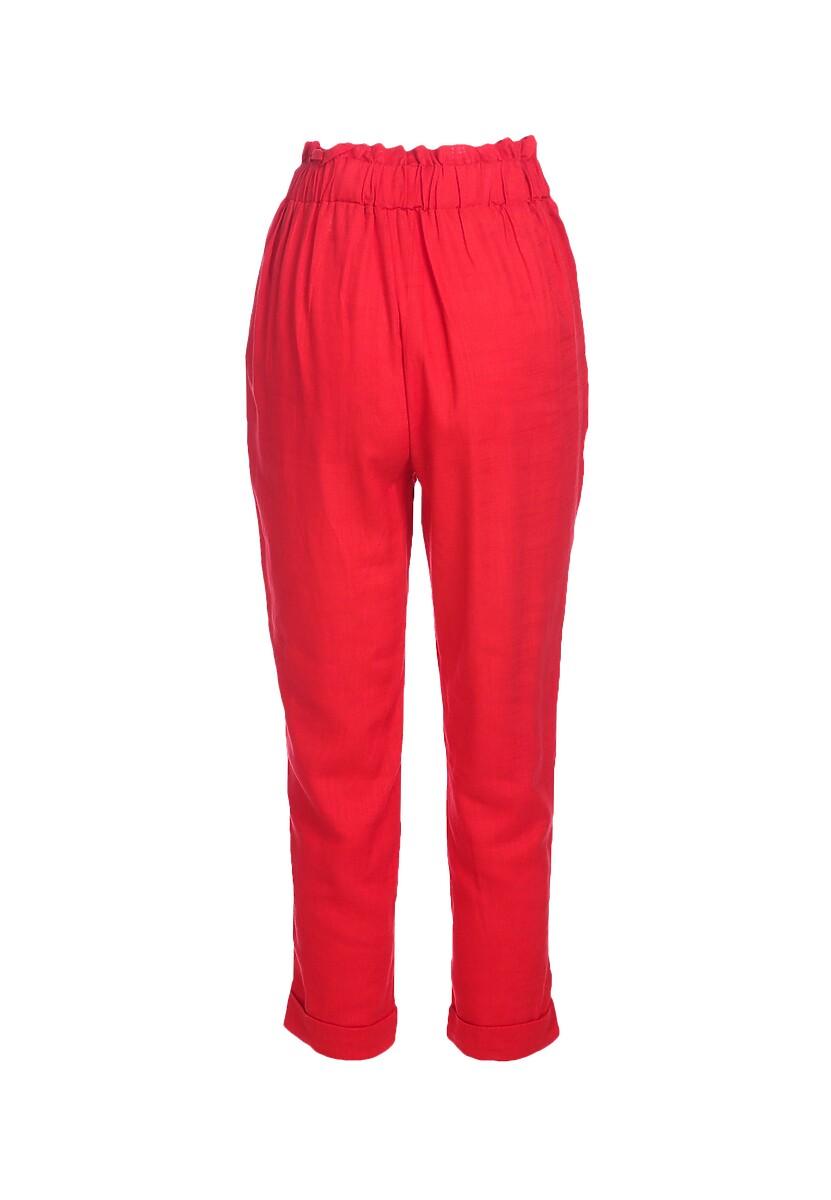 Czerwone Spodnie Even Still