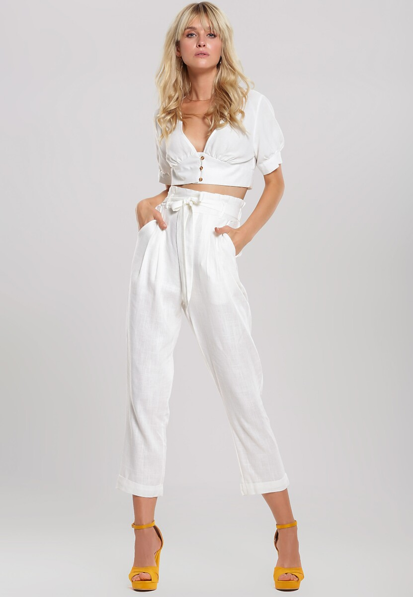 Białe Spodnie Even Still