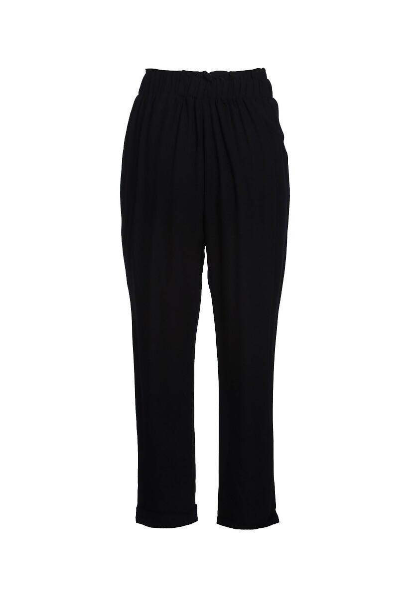 Czarne Spodnie Even Still