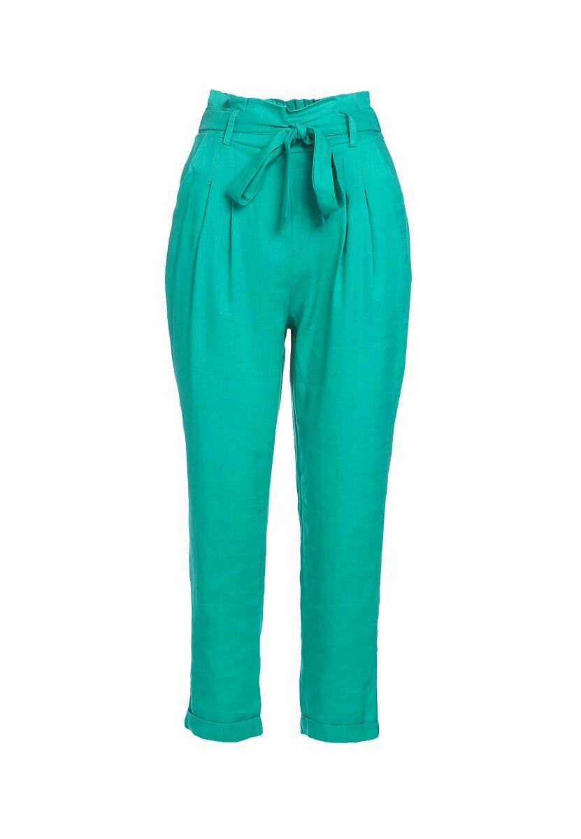 Zielone Spodnie Even Still