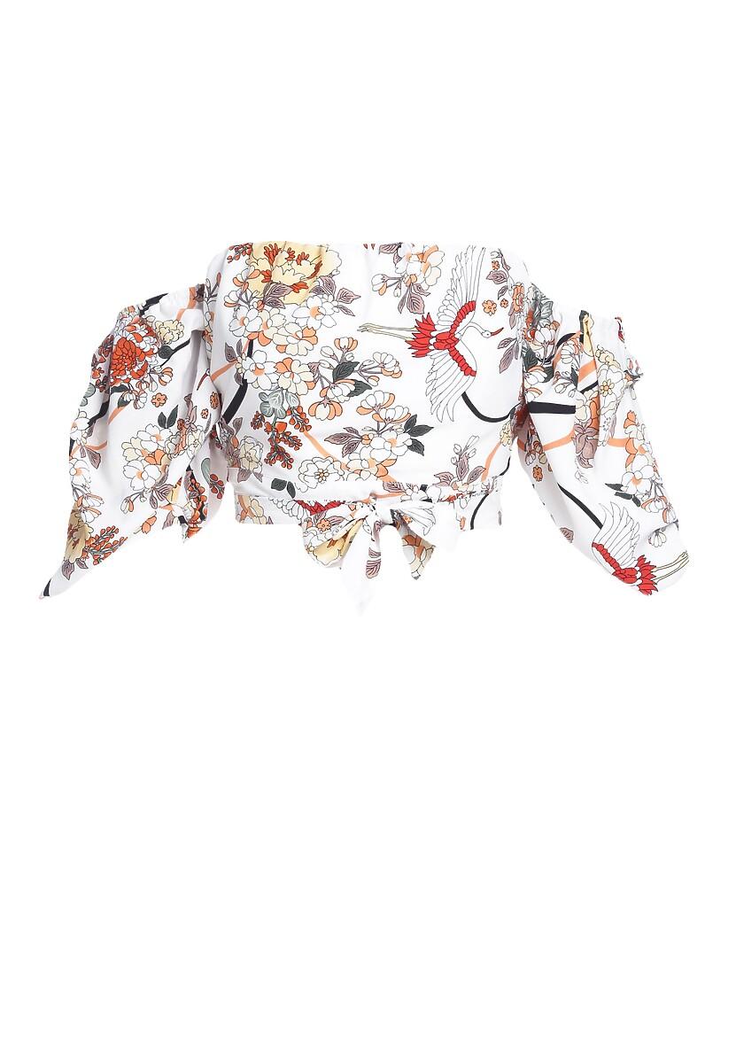 Biała Bluzka Improbable