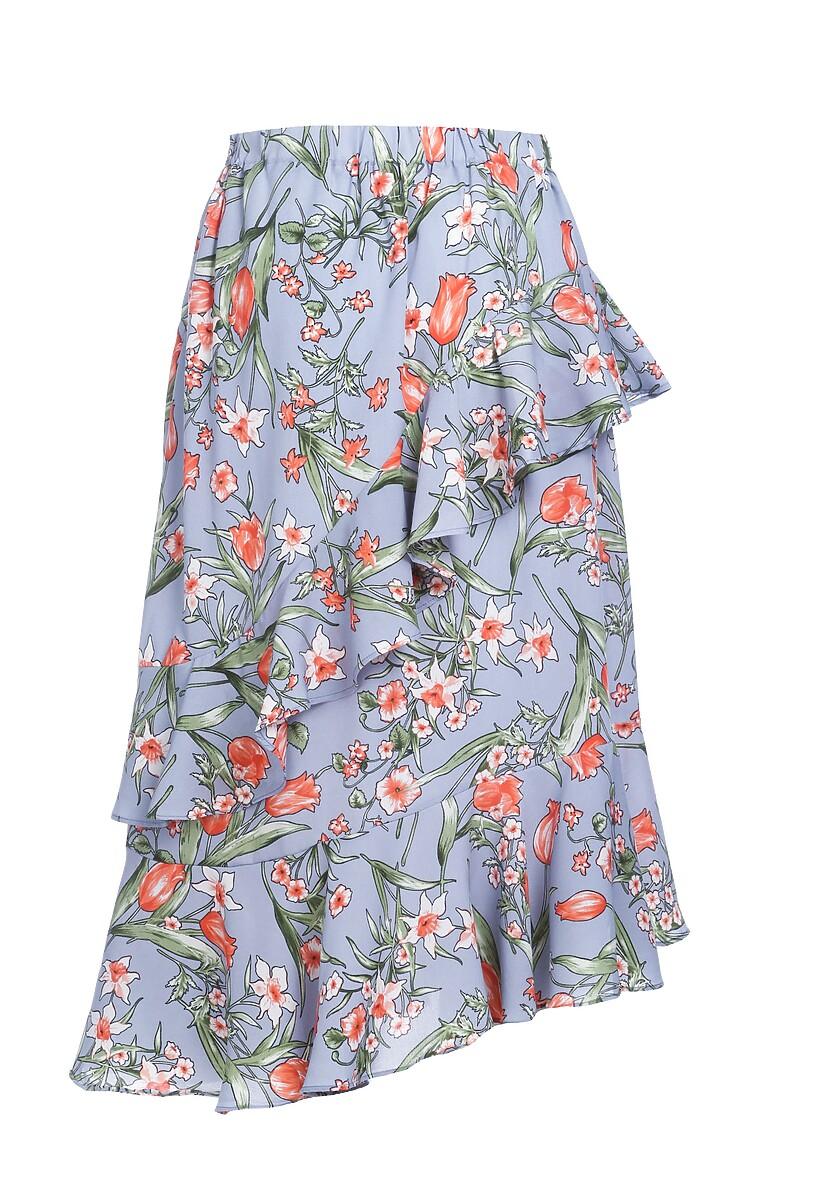 Jasnoniebieska Spódnica Inspirited