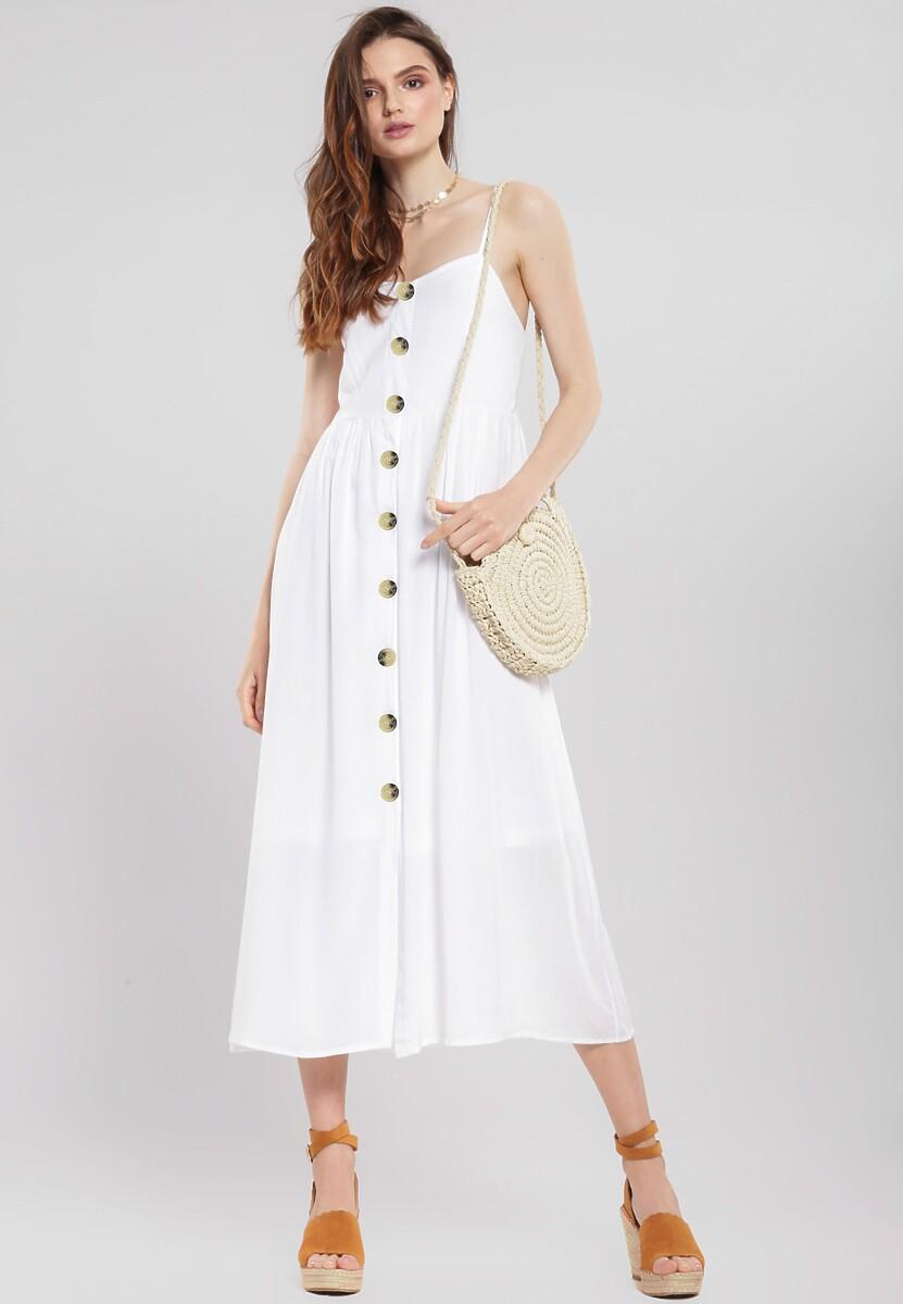 Biała Sukienka Expecting