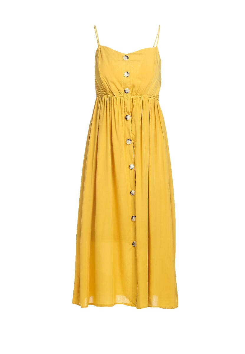 Żółta Sukienka Expecting