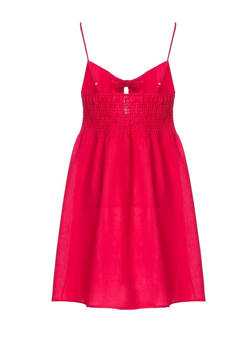 Czerwona Sukienka Undersel