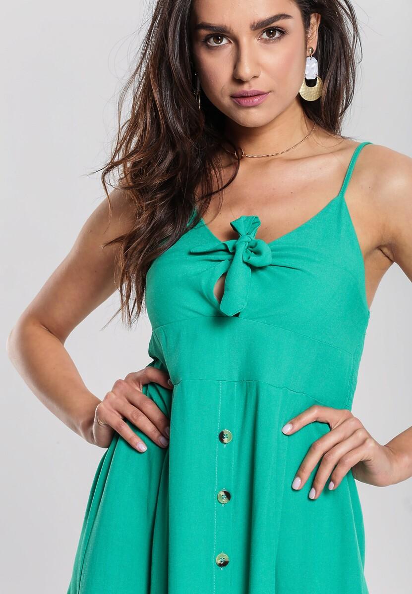Zielona Sukienka Undersel