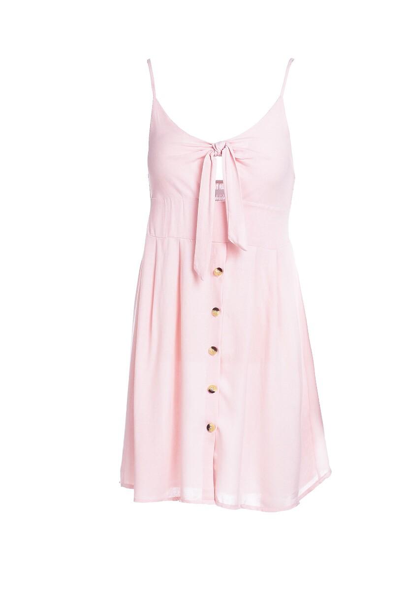 Jasnoróżowa Sukienka Undersel