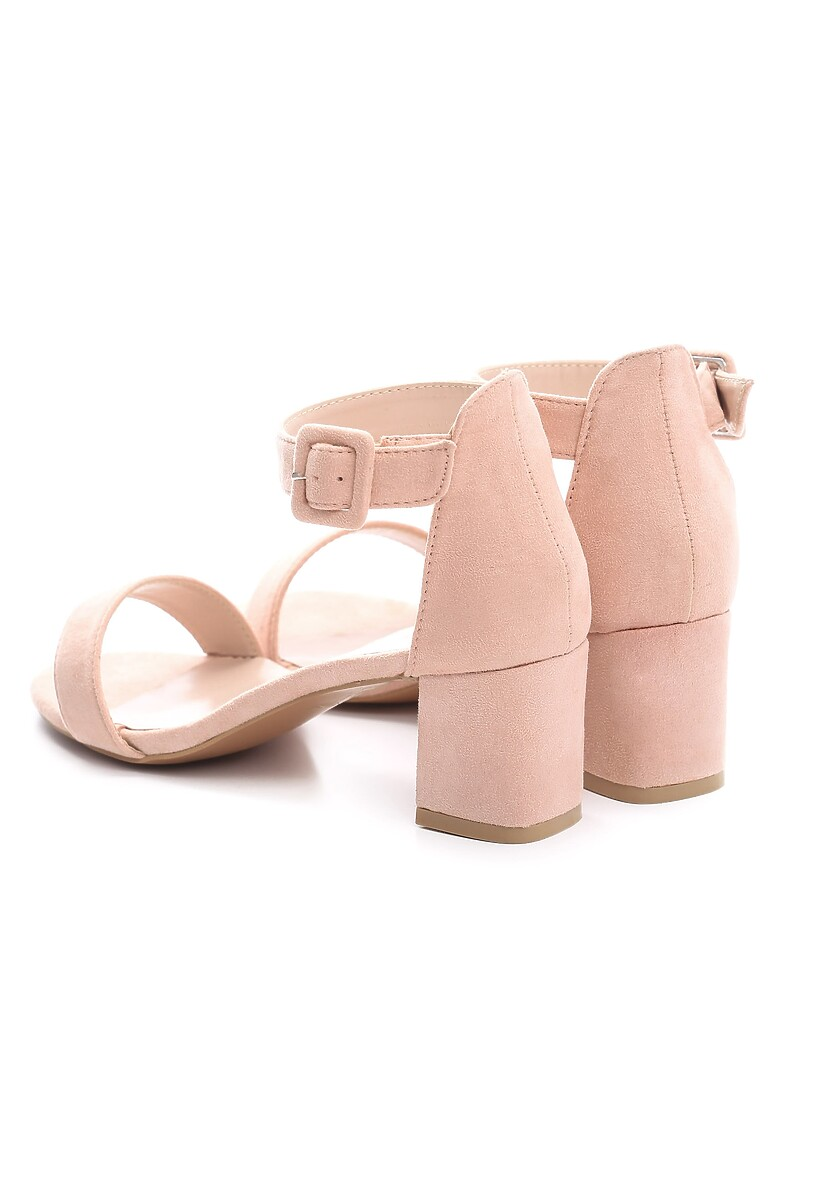 Różowe Sandały Pep