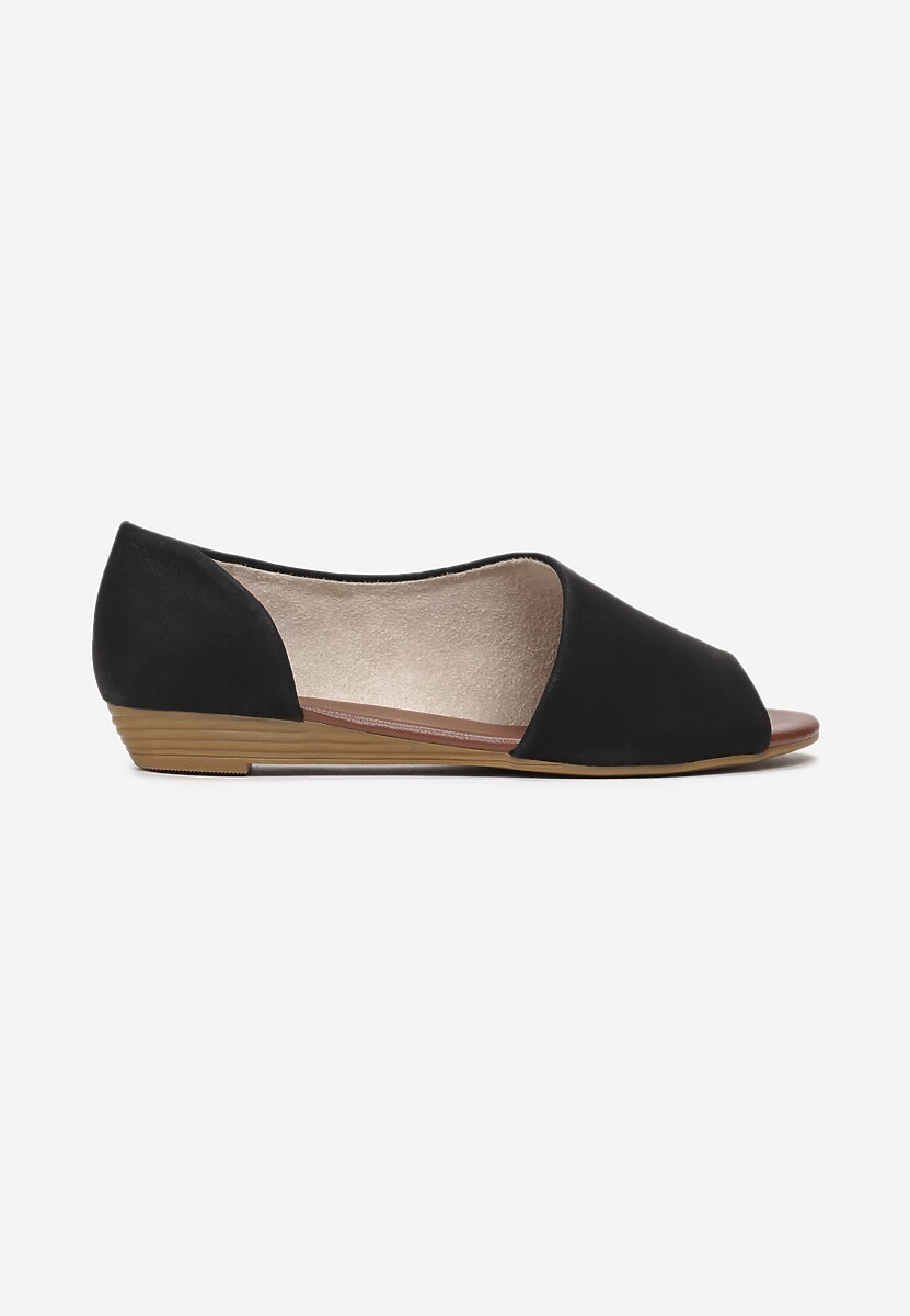 Czarne Sandały Watt