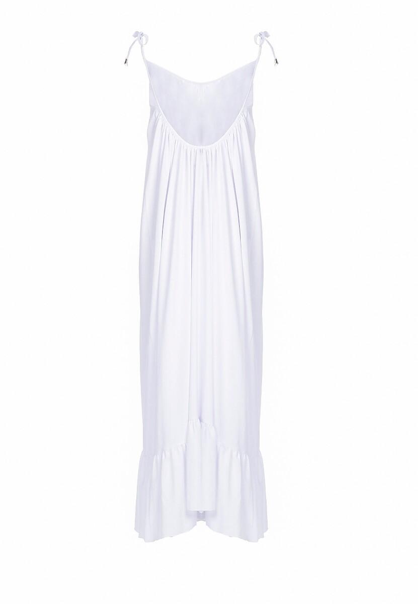 Biała Sukienka Sense Of Beauty