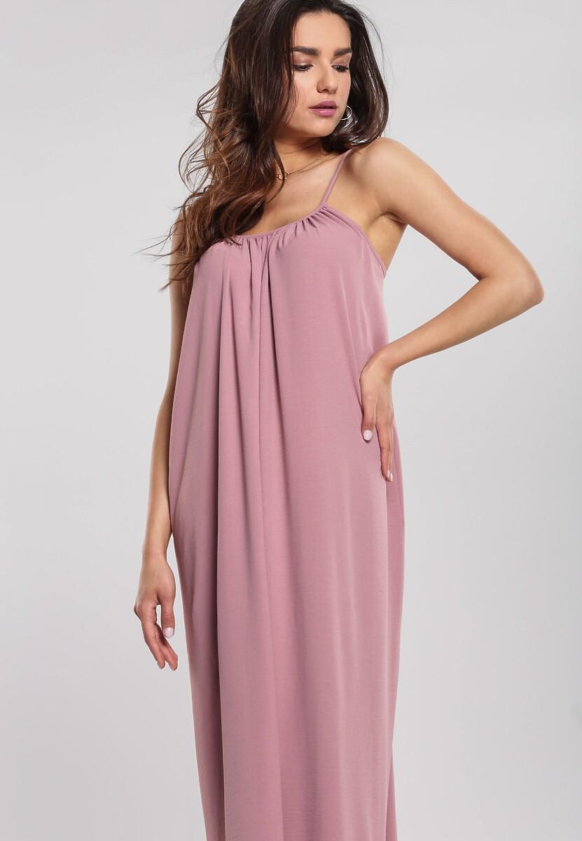 Ciemnoróżowa Sukienka Sense Of Beauty