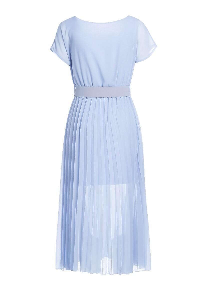 Niebieska Sukienka Mindful