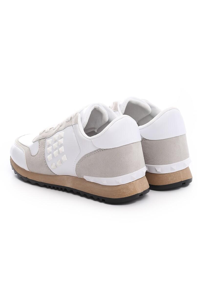 Białe Buty Sportowe Unflagging