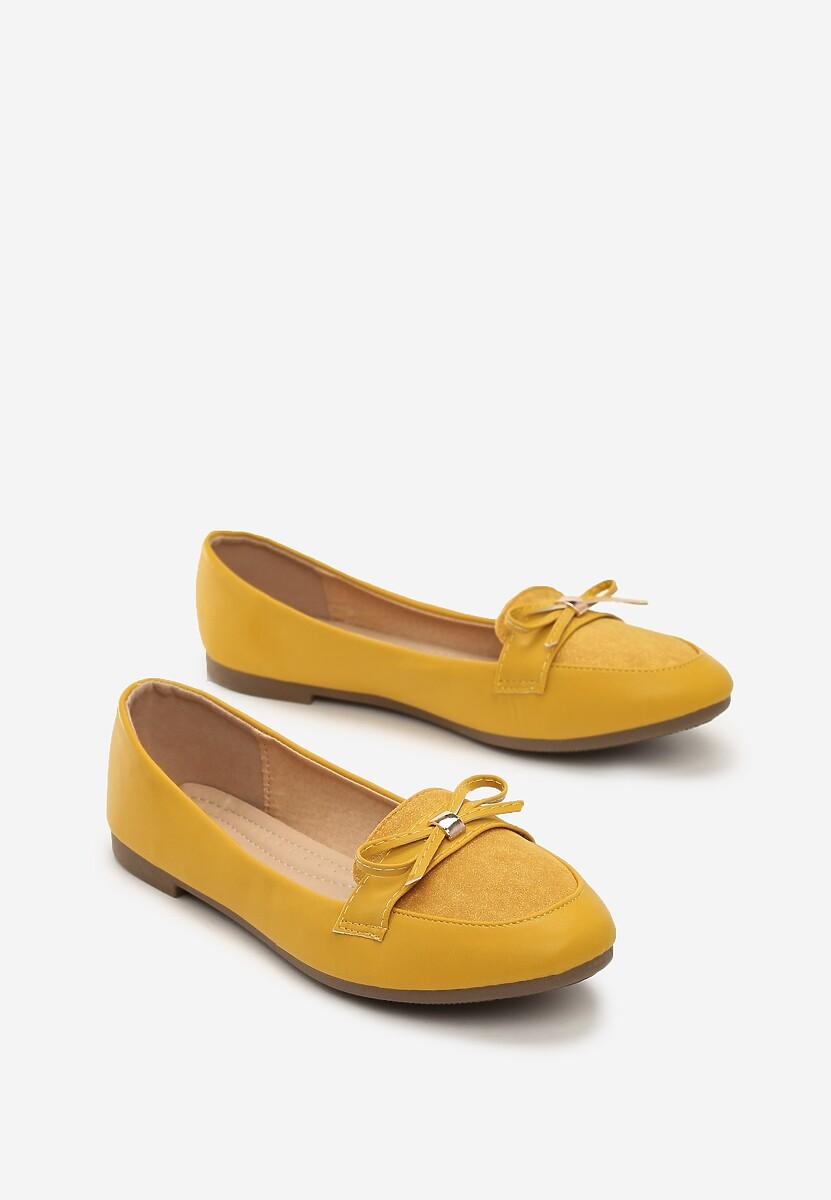 Żółte Mokasyny Casualness