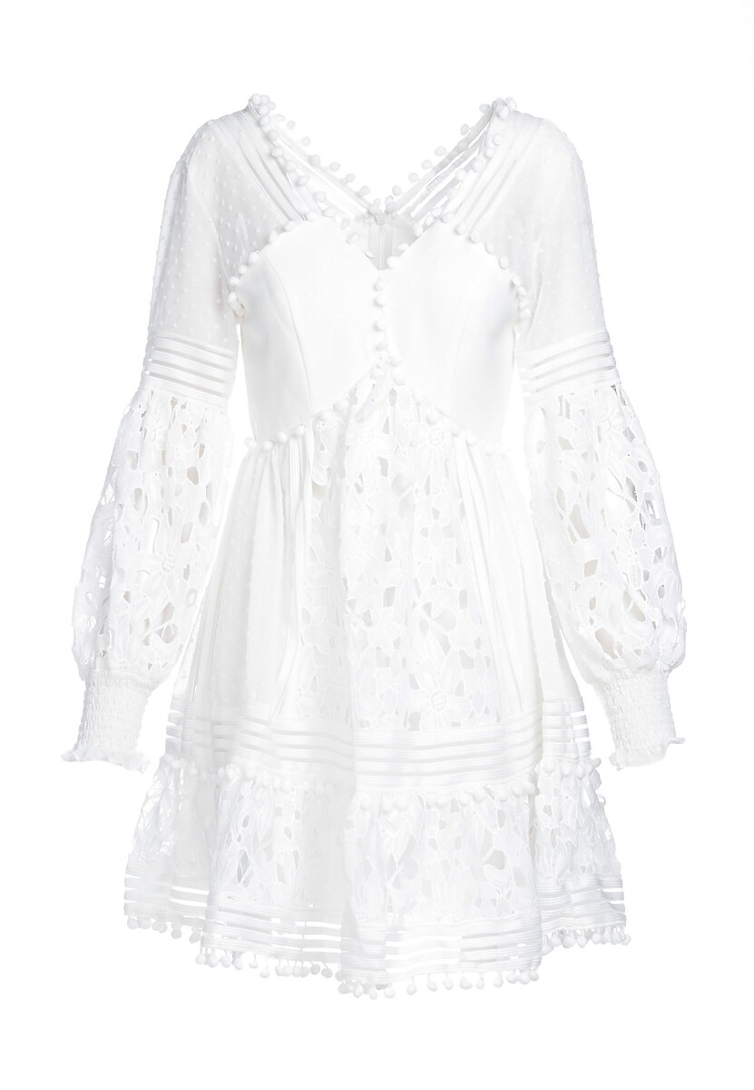 Biała Sukienka Romantic Evening