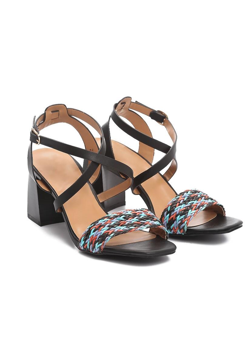 Czarne Sandały Dread