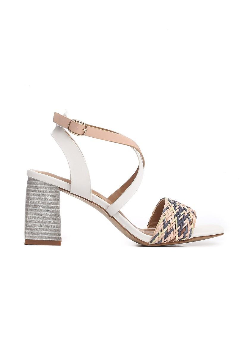Białe Sandały Dread