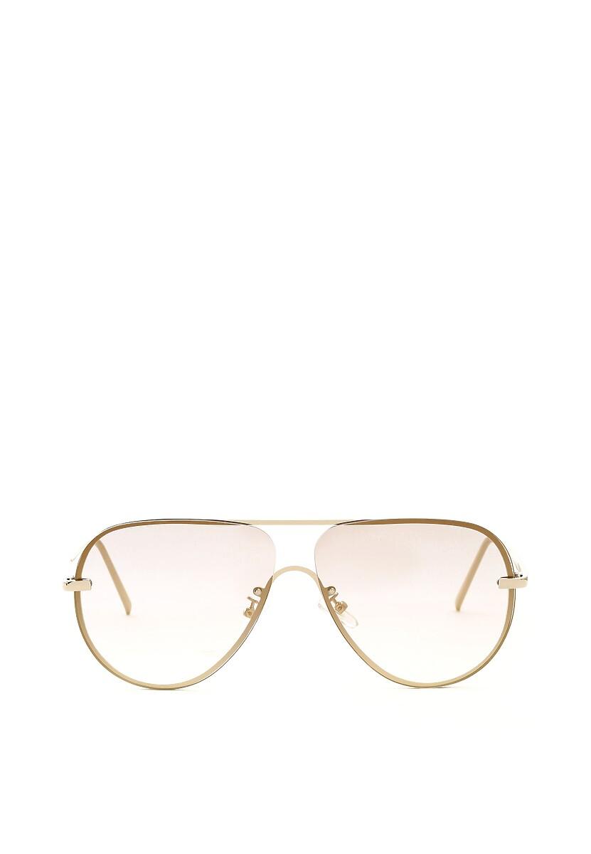 Srebrno-Żółte Okulary Bent Upon