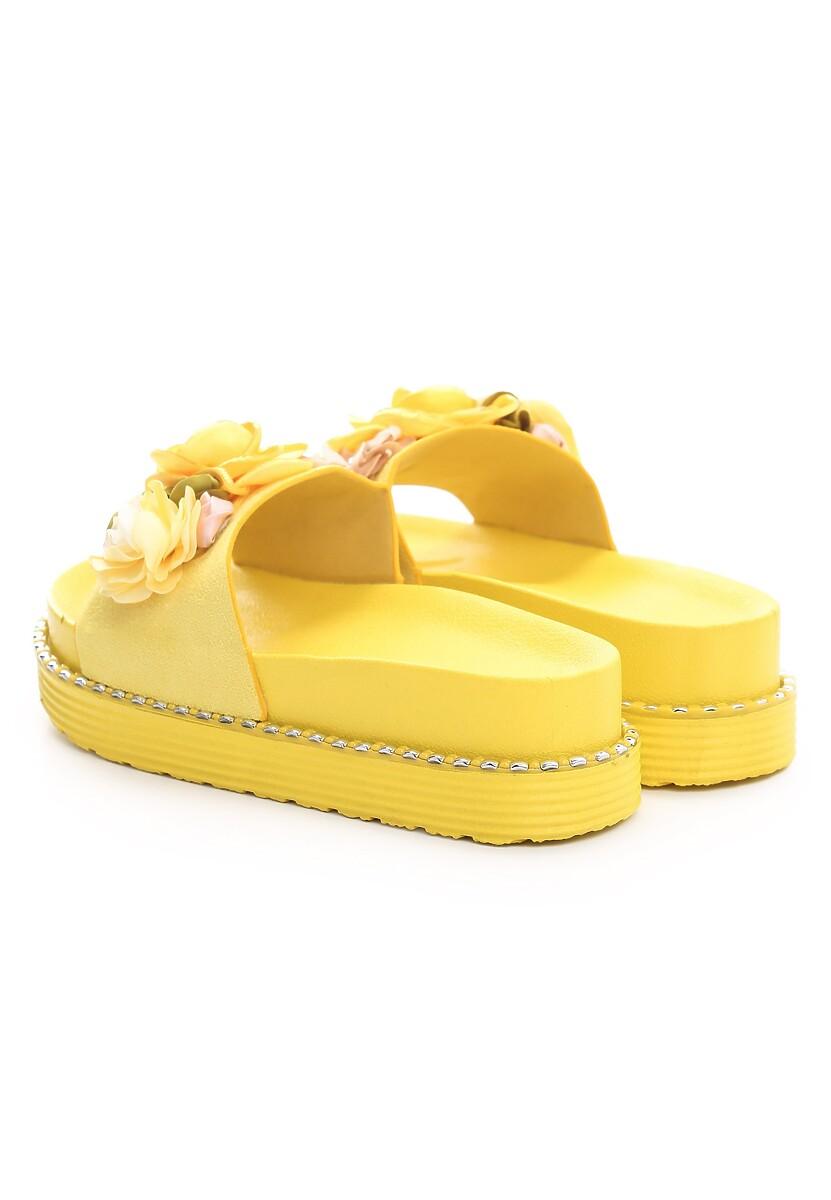 Żółte Klapki On The Level