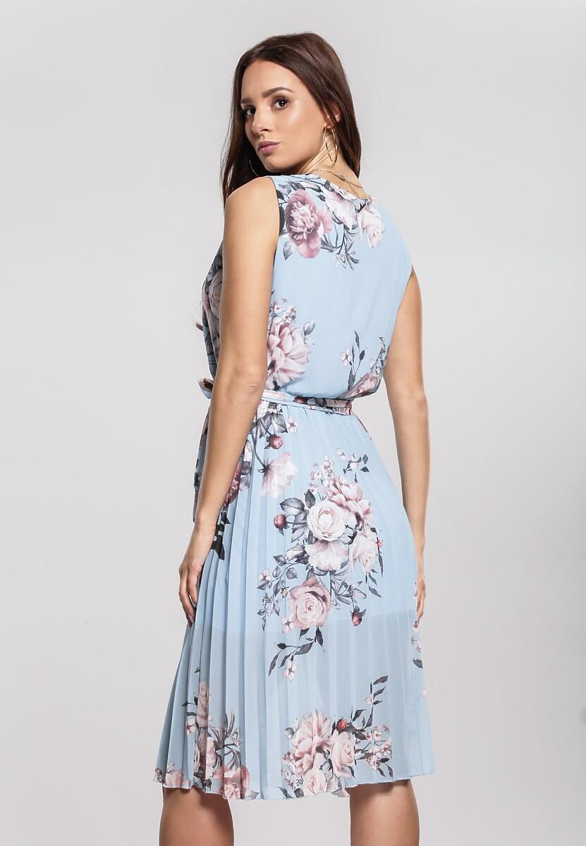 Jasnoniebieska Sukienka Typhoons