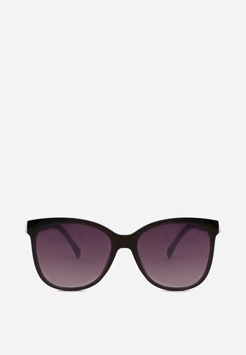 Czarno-Niebieskie Okulary Impasto