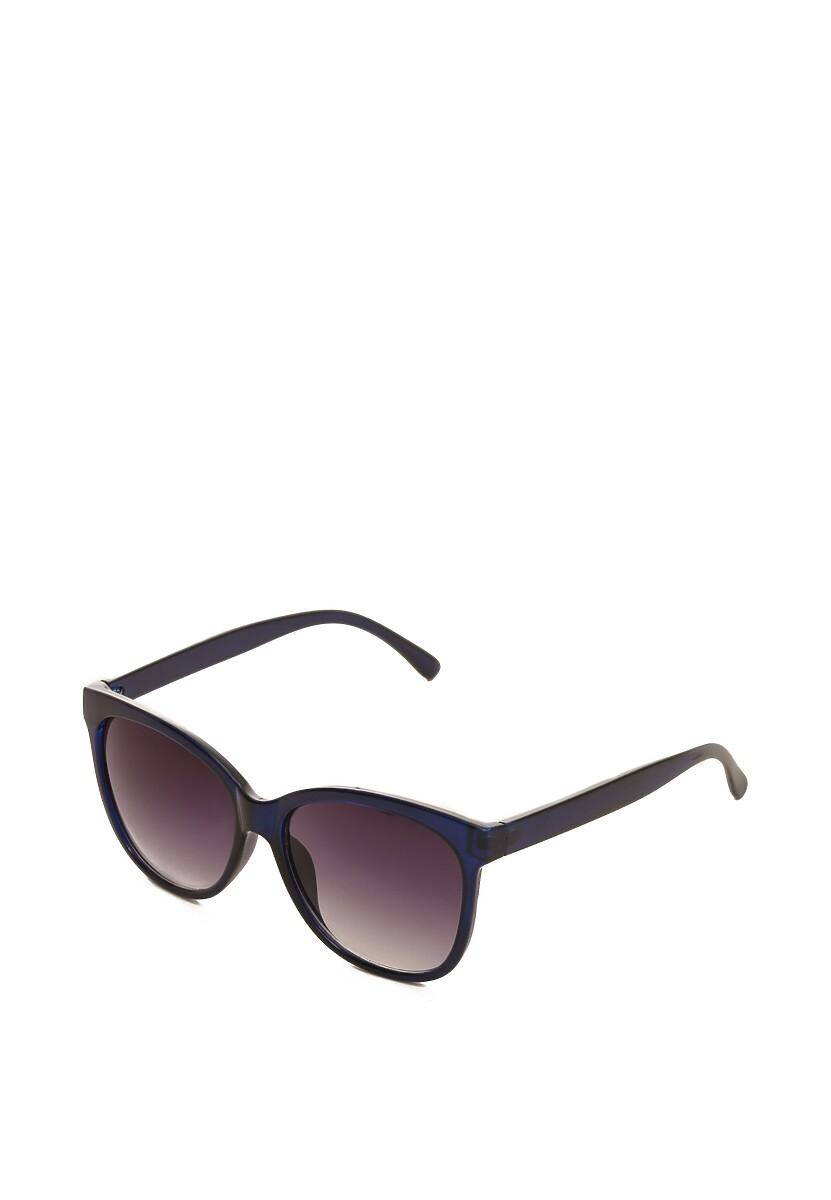 Granatowe Okulary Impasto
