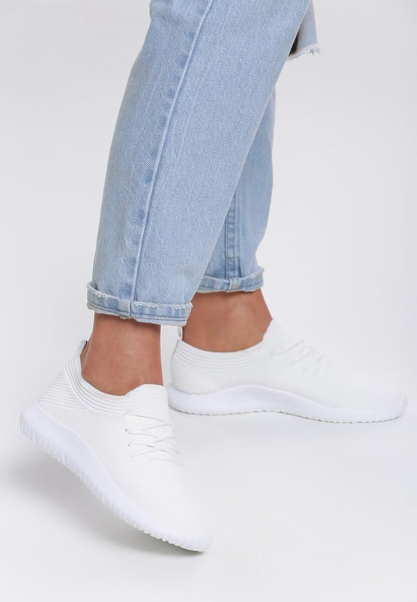 Białe Buty Sportowe Aesthete