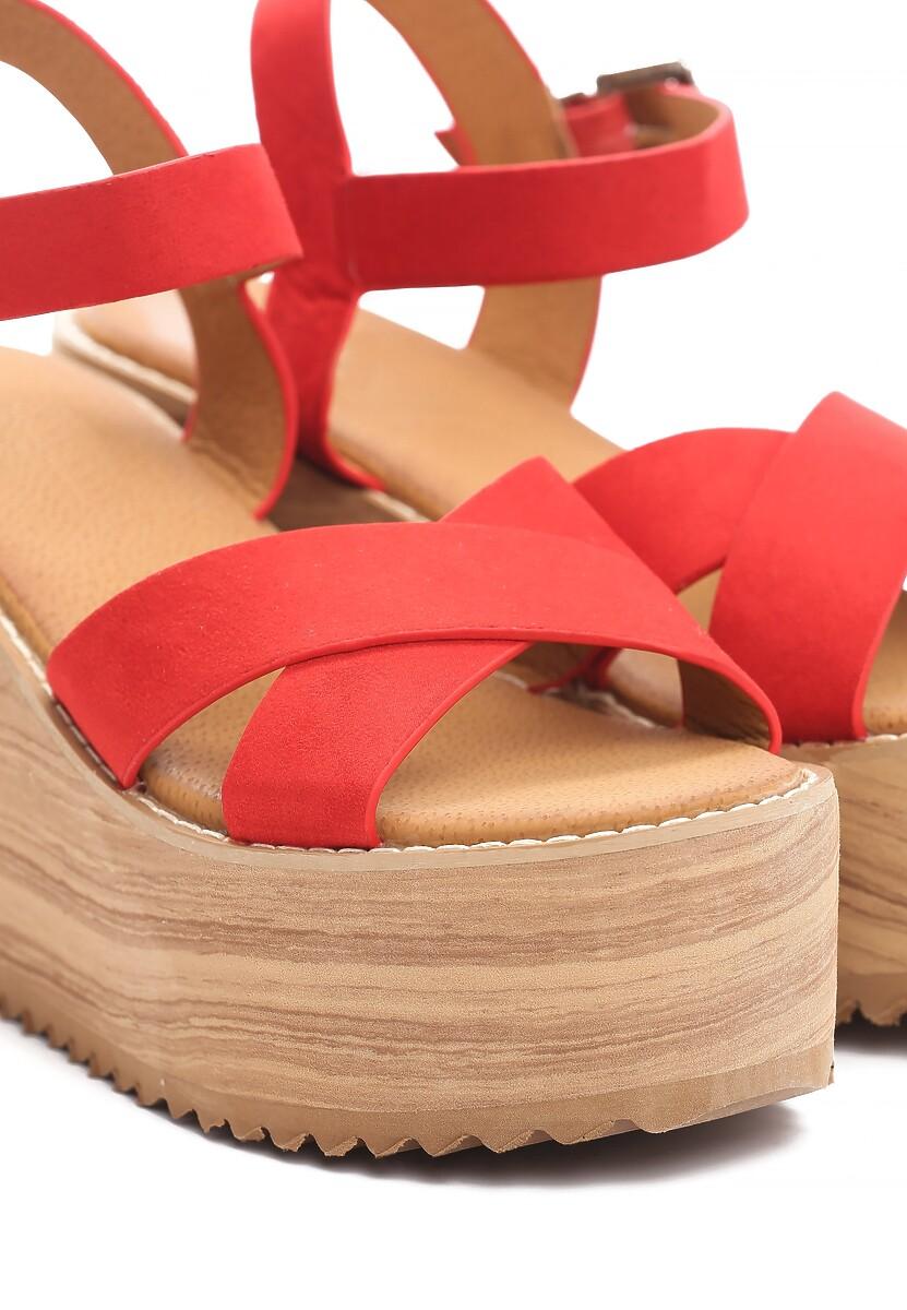 Czerwone Sandały Esthetics