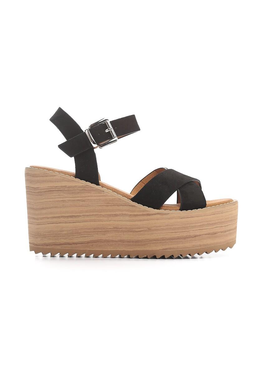 Czarne Sandały Esthetics